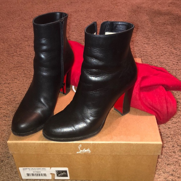 Louboutin Adox Booties Size 34